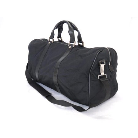 3b644fb8dc56 Gucci - Boston 2way Duffle 226369 Black Nylon X Leather Weekend/Travel Bag  - Walmart.com