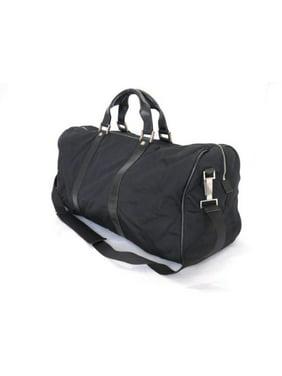 32144969 Product Image Boston 2way Duffle 226369 Black Nylon X Leather  Weekend/Travel Bag