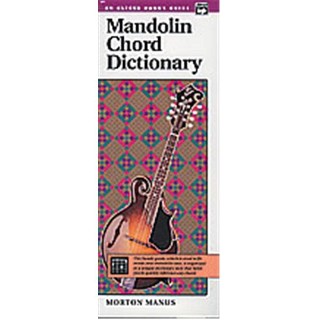 Alfred 00-471 Mandolin Chord Dictionary - Music Book