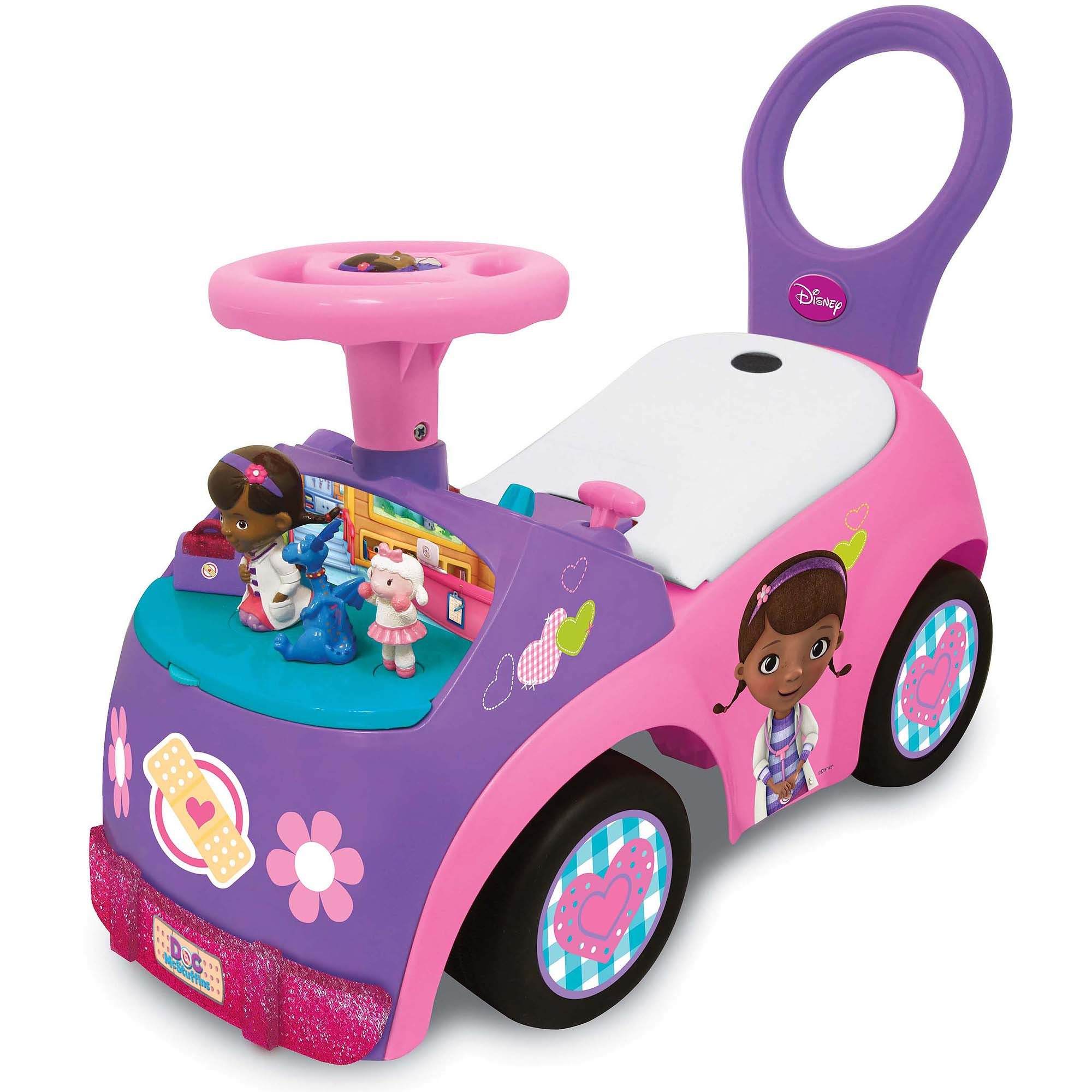 Light & Sound Doc McStuffins Activity Ride On