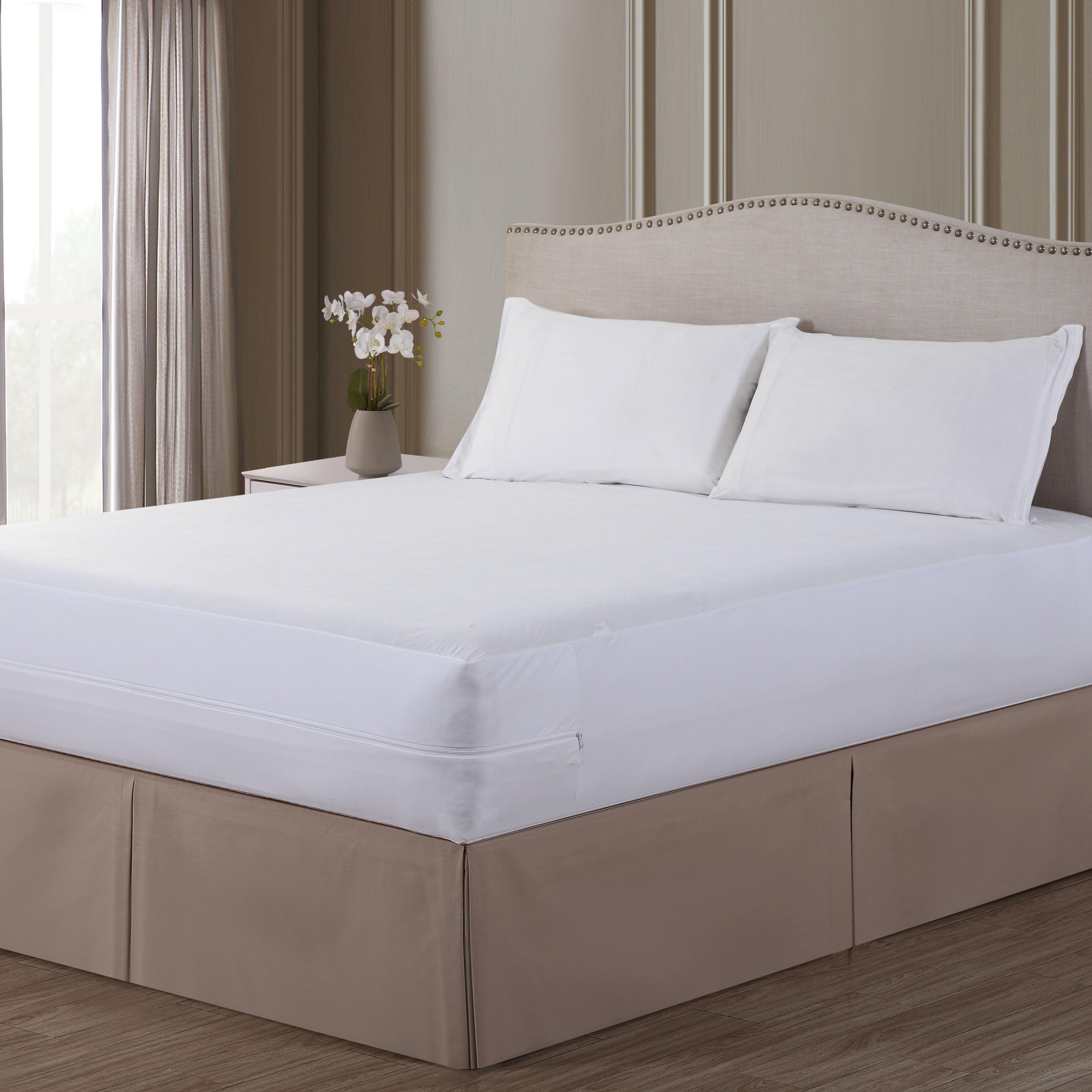 Original Bed Bug Blocker Zippered Mattress Cover Protector Walmartcom