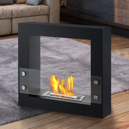Ignis Products Lisbon Freestanding Ventless Ethanol Fireplace