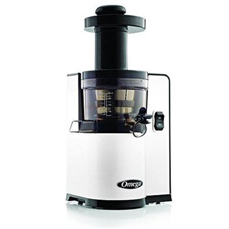 Slow Juicer Horizontal Or Vertical : Omega vertical Slow Juicer - Walmart.com