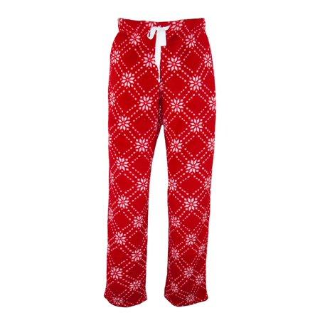 Fair Isle Tie (Hanes  Women's Fair Isle Print Plush Pajama Lounge)