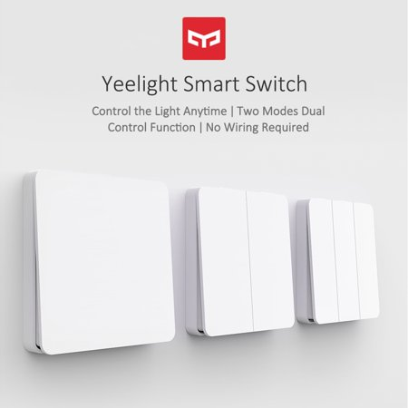 Yeelight Wirelessly Smarts Switch 16A Light Controller Compitable with Mijia Mi Home AC250V/16A Triple Button - image 4 de 7