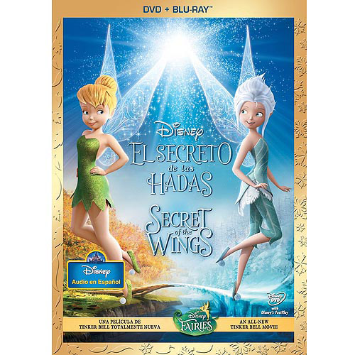 Secret Of The Wings (DVD + Blu-ray) (Spanish Language Packaging) (Widescreen)