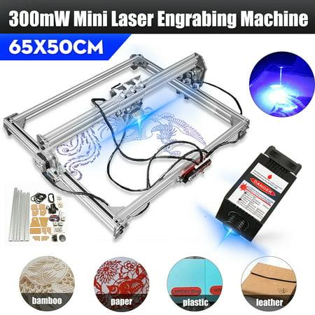 Laser Engraving Cutting Machine 50x65CM 3000mW CNC Engraver Printer Kit