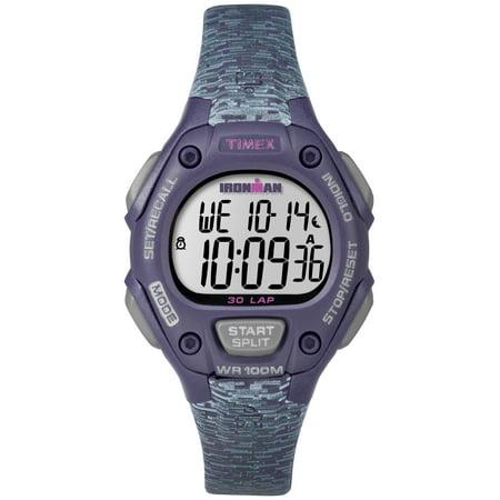 Women's Ironman Classic 30 Mid-Size Purple/Gray Watch, Resin