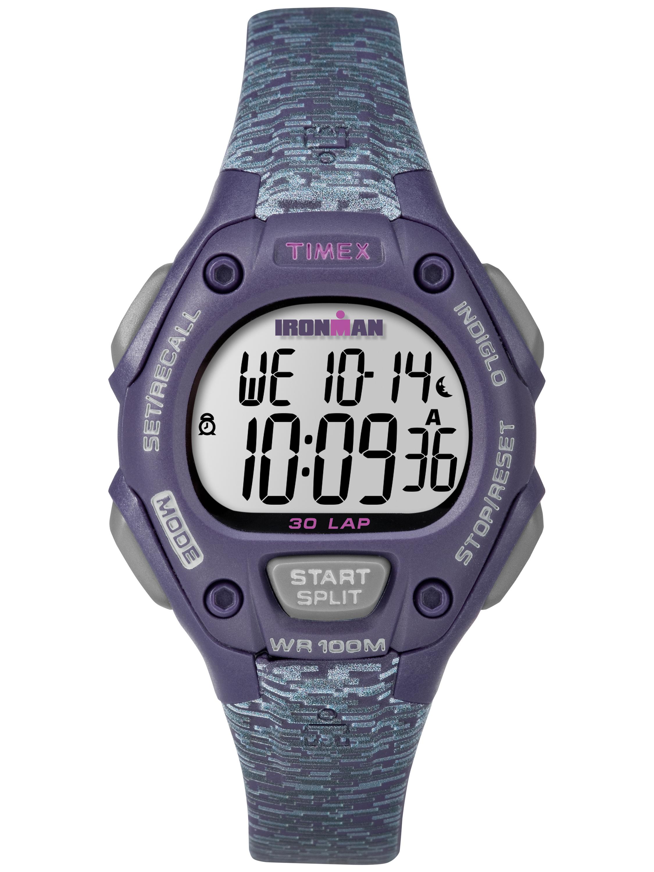 Women's Ironman Classic 30 Mid-Size Purple/Gray Watch, Resin Strap