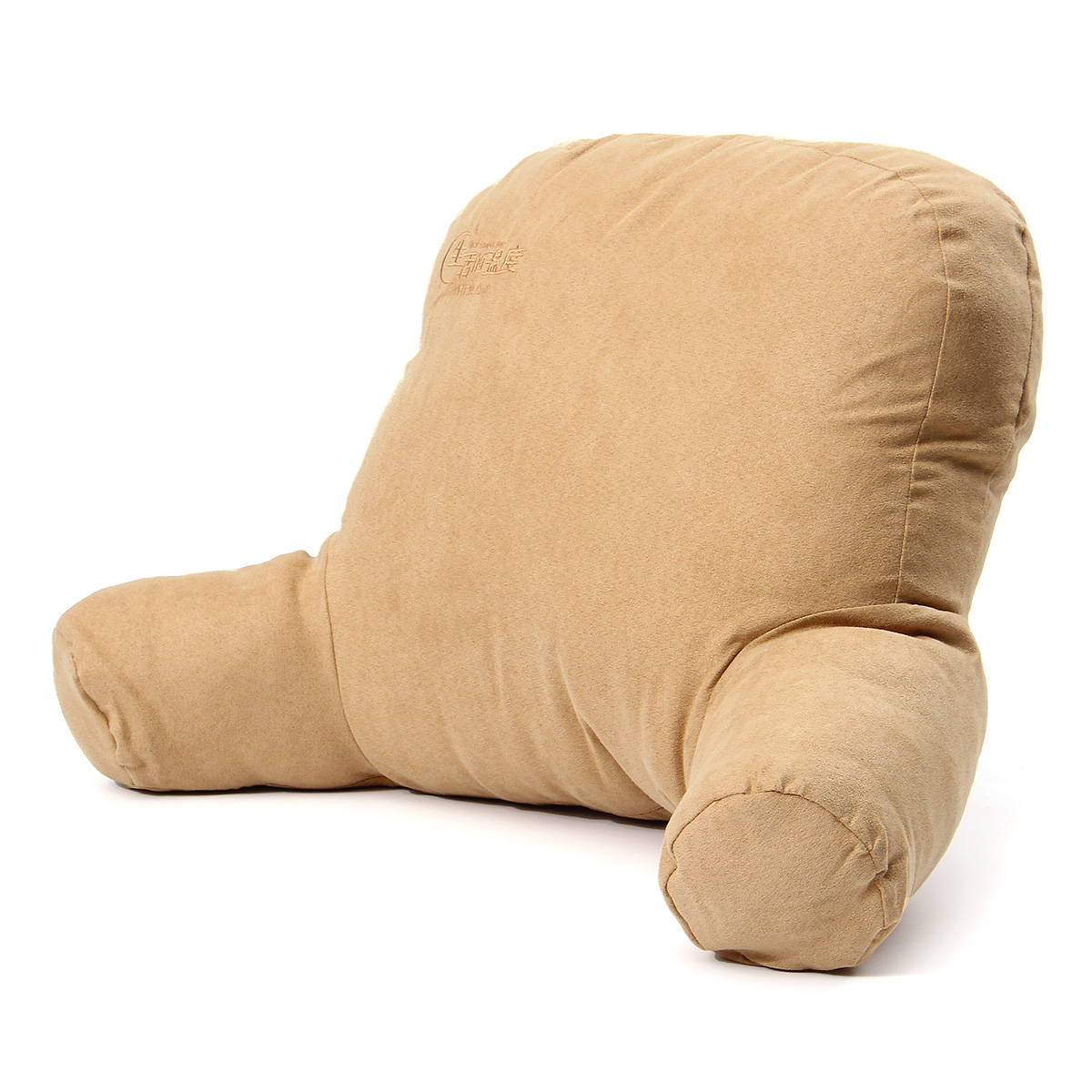 Micro Reading and Sitting Lounger Back Support Pillow with Arms Soft But Firmly Stuffed Cottonfill
