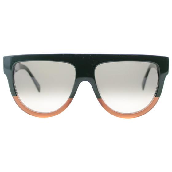 19ce0c8d1b Celine - Celine CE 41026 Sunglasses 0JAR Green Brown - Walmart.com