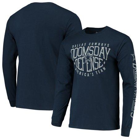 Dallas Cowboys Domes Football Long Sleeve T-Shirt - Navy Dallas Cowboys Football Shorts