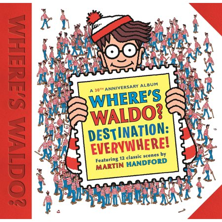 Where's Waldo? Destination: Everywhere! : 12 classic scenes as you've never seen them before! - Wario Girl