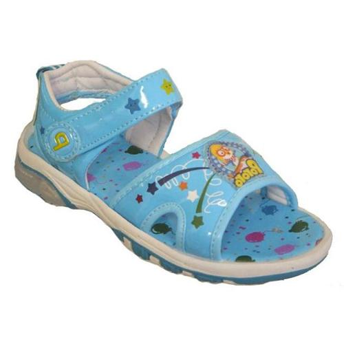 Papush Toddler Boy's Confetti Star Blue Sandals Size: 8