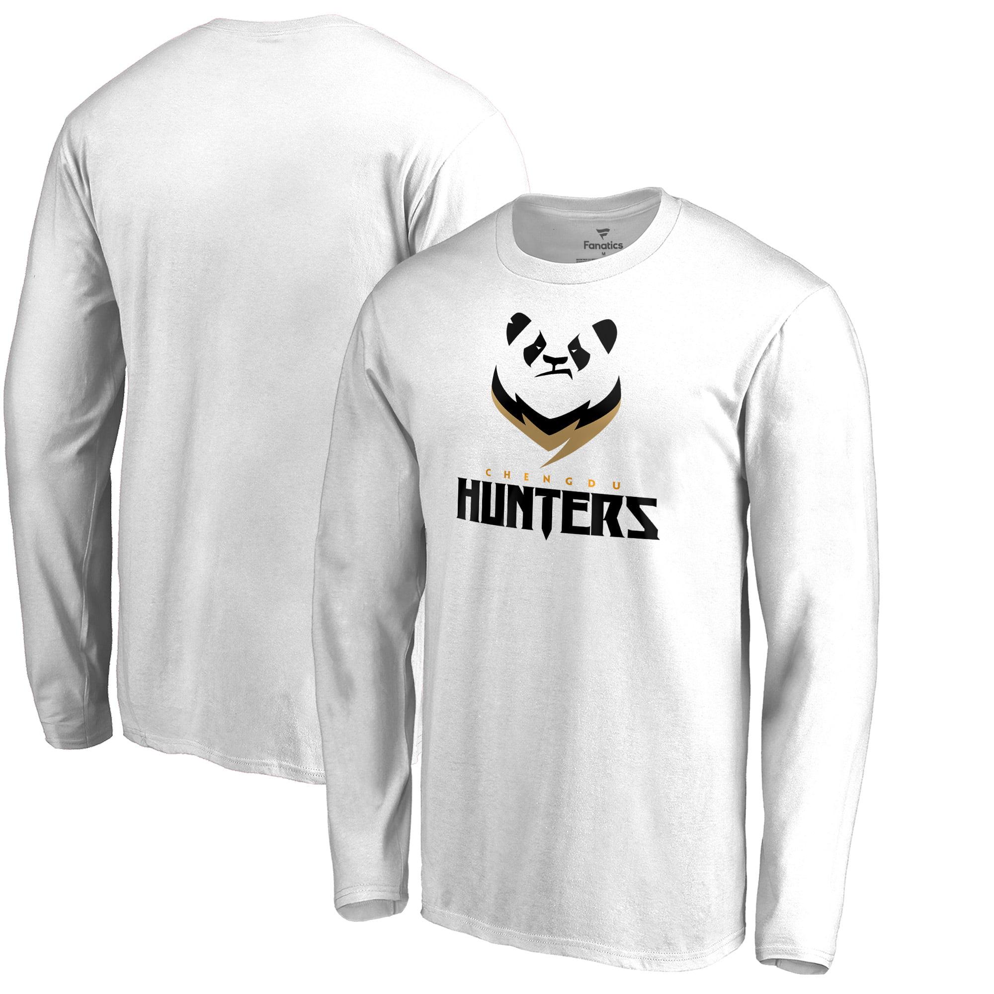 Chengdu Hunters Fanatics Branded Team Identity Long Sleeve T-Shirt - White