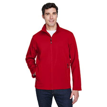 Ash City - Core 365 Men's Cruise Two-Layer Fleece Bonded SoftShell - Ash Kids Jacket