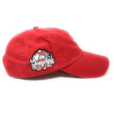 "FUBU ""FB"" Logo 25th Anniversary Dad Red Snapback Hat - image 4 of 5 ... 2bbb00acf0e"
