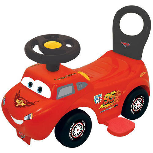 Disney Lightning McQueen 2-in-1 Battery-Powered Activity Ride On