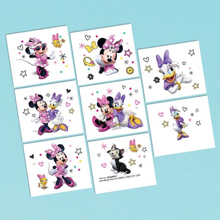 Mouse Tattoo (Minnie Mouse Helpers Tattoo Sheet (1))