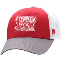 Men's Russell Athletic Crimson/White Oklahoma Sooners Steadfast Snapback Adjustable Hat - OSFA