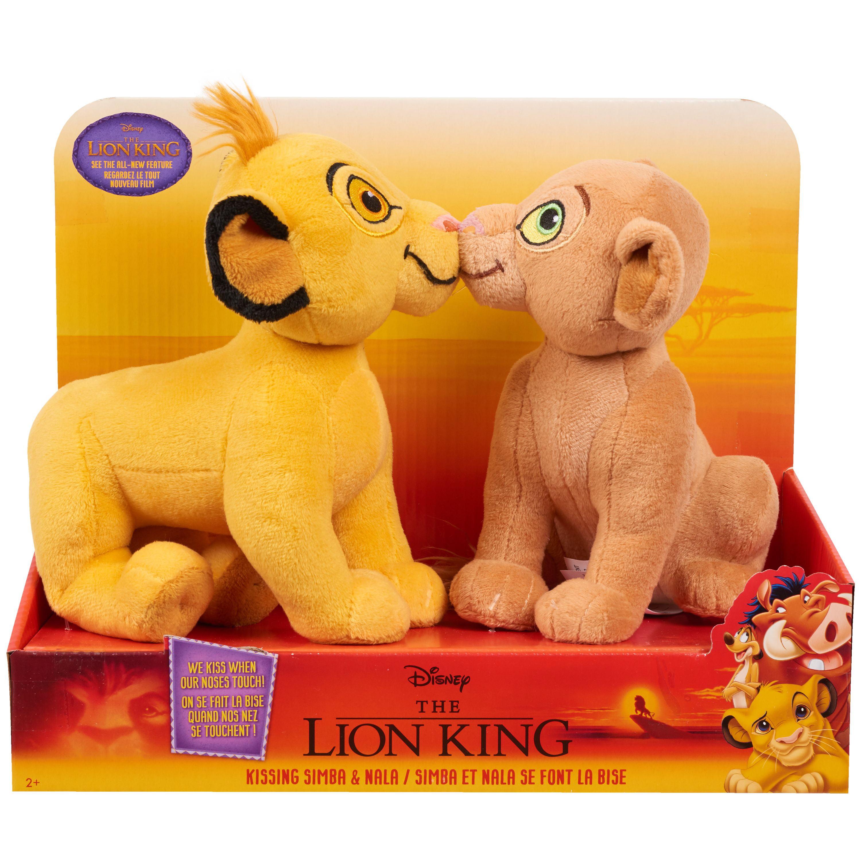 Disney's The Lion King Kissing Plush - Simba & Nala