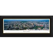 Berlin, Germany - Blakeway Panoramas Print with Deluxe Frame and Double Mat