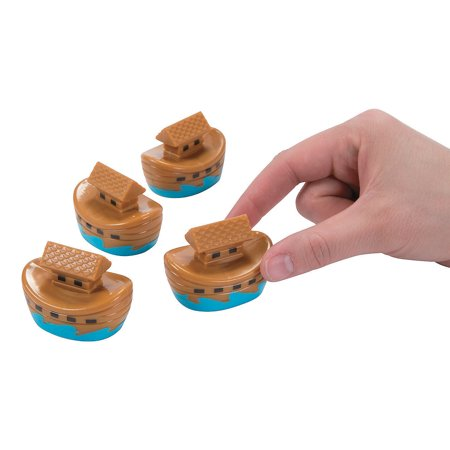 NOAH'S ARK PULL BACKS - Toys - 12 Pieces