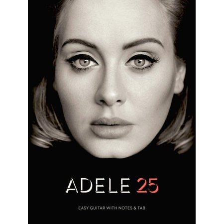 Hal Leonard Adele   25  Easy Guitar With Tab