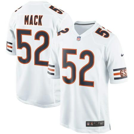 da2a2944df1 Khalil Mack Chicago Bears Nike Event Game Jersey - White - Walmart.com