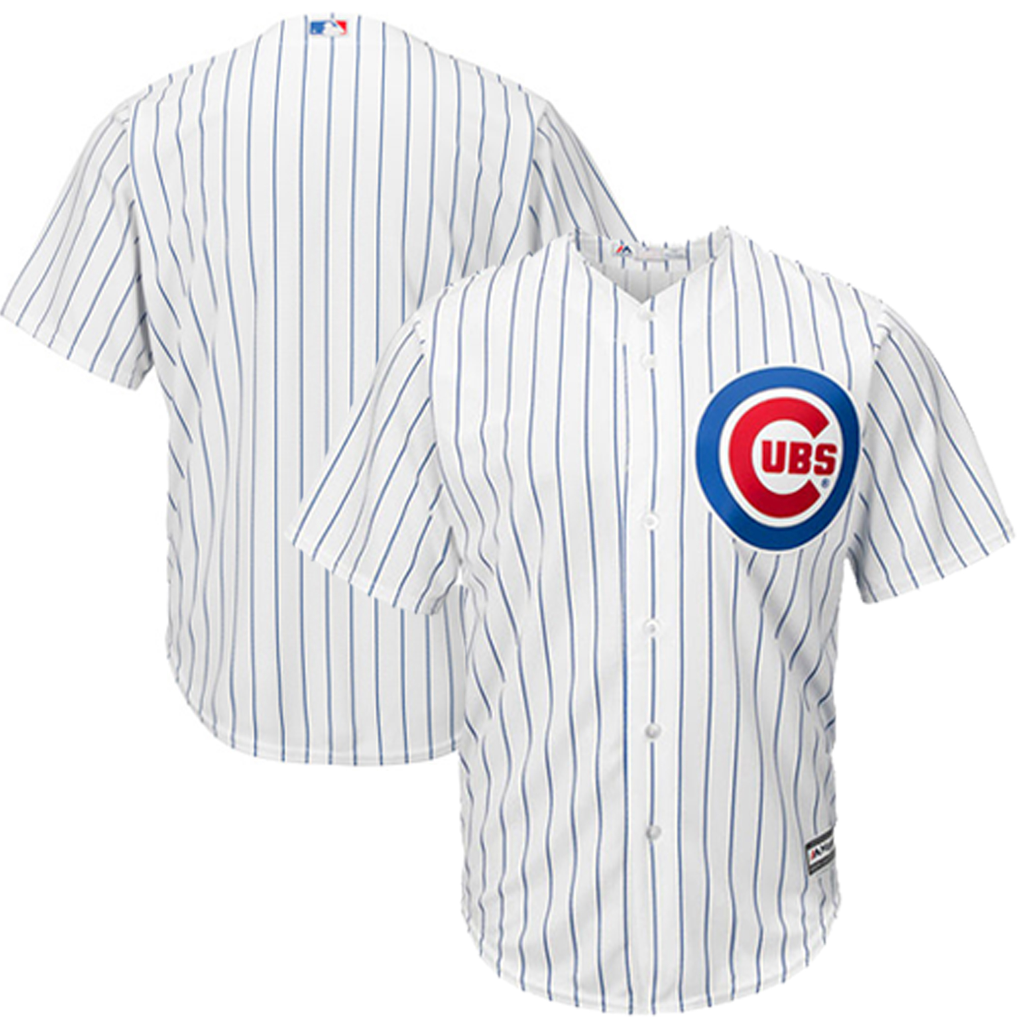 Chicago Cubs Majestic Official Cool Base Jersey - White