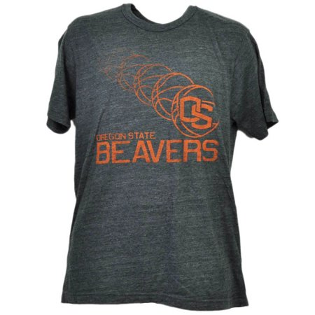 NCAA Oregon State Beavers Repeat Logo Tshirt Tee Gray Short Sleeve Mens Large - Ring Bearer Gray Suit