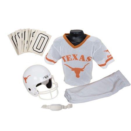 competitive price d06b3 1ea63 NCAA - Texas Longhorns Kids/Youth Football Helmet and Uniform Set