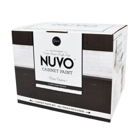 Nuvo Cocoa Couture Cabinet Makeover Paint Kit (Nuvo Cocoa Couture 1 Day Cabinet Makeover Kit)
