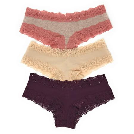 9ba05e970d8b1 Victoria's Secret PINK Cheekster Panty Set of 3