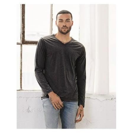a4376ccc47f Bella + Canvas - Bella + Canvas T-Shirts - Long Sleeve Unisex Long Sleeve V-Neck  Tee 3425 - Walmart.com