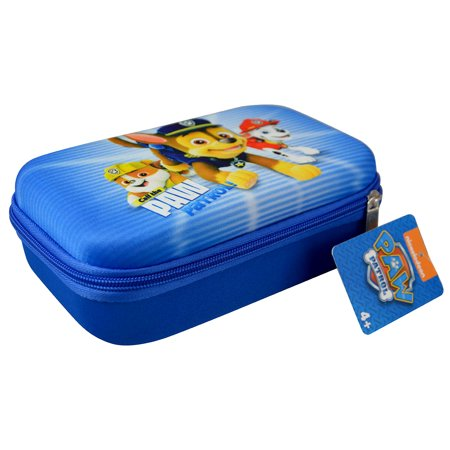 Novelty Character Stationery Accessories Nick Jr Paw Patrol Blue Call The Paw Patrol Hard Shell Pencil Case