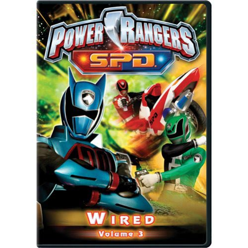 Power Rangers S.P.D.: Vol. 3 - Wired (Full Frame)