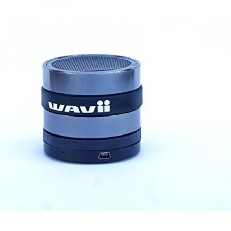Wavii Bluetooth Speaker Great At The Beach  Wireless Built In Microphone Listen To Music Or Talk W O Lifting A Finger Superbass Allows You To Truly Hear Fav Songs On Iphone Android Ipad Surface Mac Pc