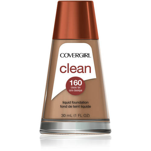 CoverGirl Clean Makeup Foundation Classic Tan, 1 Oz