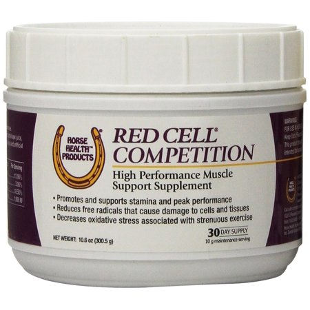 (Farnam Horse Health Red Cell Competition Supplement Support Stamina Peak 10.6 oz)