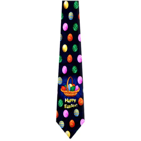 Bunny Tie (Mens Easter Holiday Bunnies and Eggs Necktie Ties - Many Colors and Patterns Available)