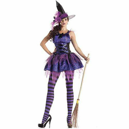 Starry Night Witch Adult Halloween Costume](Light The Night Halloween)