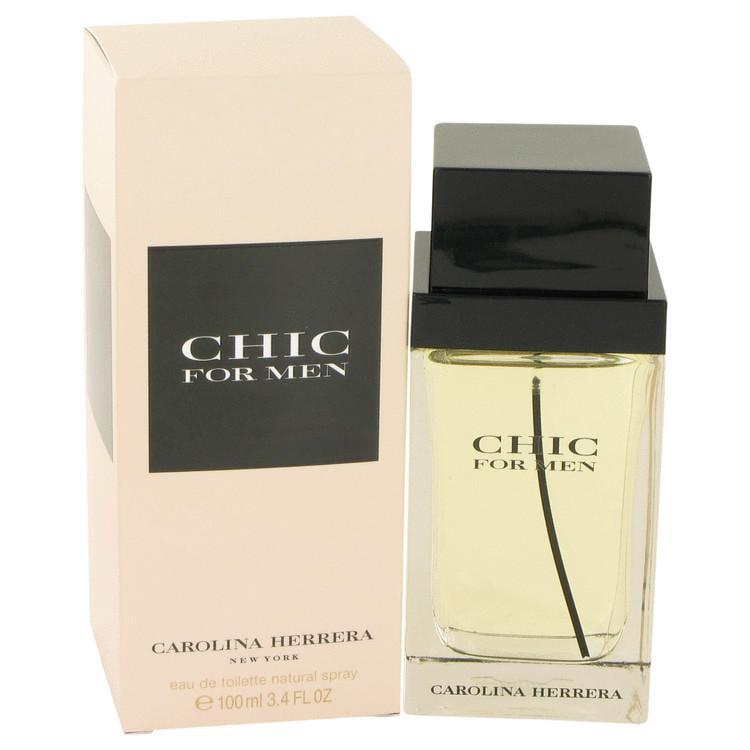 Chic by Carolina Herrera Eau De Toilette Spray 3.4 oz for Men