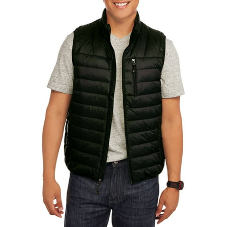 Big Men's Lightweight Down Vest, 2XL - Lights Clothing