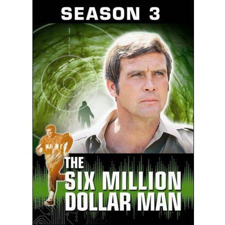 The Six Million Dollar Man  The Complete Season Three  Full Frame