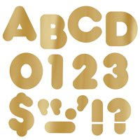 READY LETTERS 2 CASUAL METALLIC GOLD