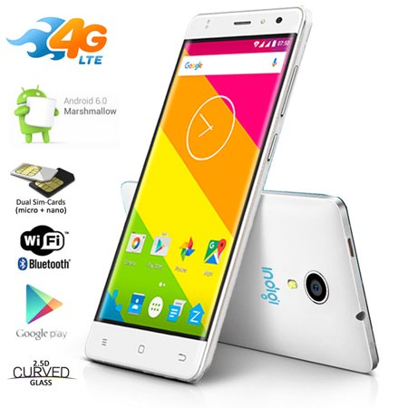 4G LTE GSM Unlocked 5.6-inch SmartPhone by Indigi® [Android Marshmallow OS + DualSIM + Fingerprint Unlock + Google Play (Blackberry Playbook 4g)