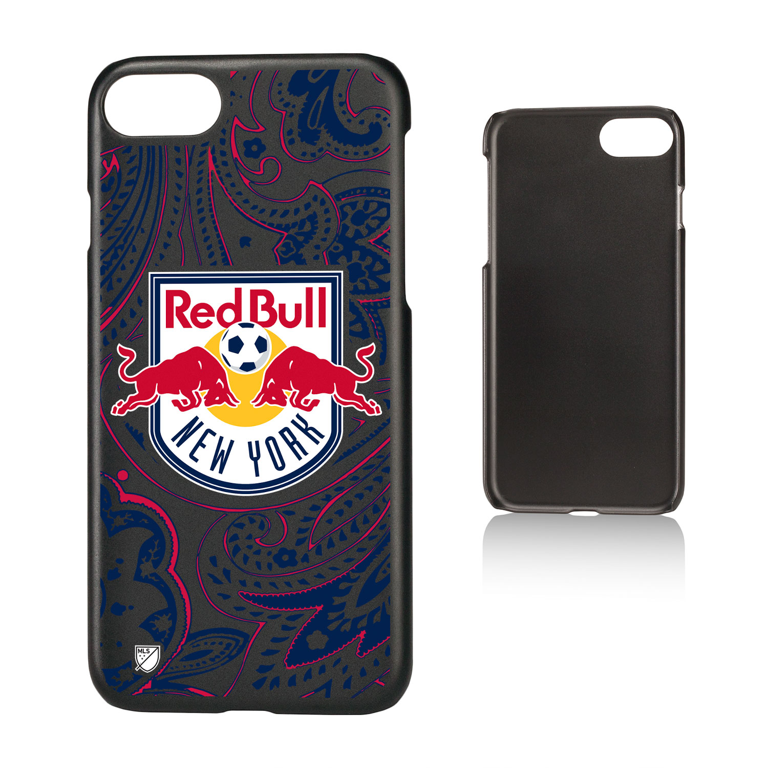 New York Red Bulls RED BULLS Paisley Slim Case for iPhone 8 / 7 / 6