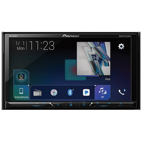 Pioneer - MVH-2400NEX - Pioneer MVH-2400NEX 7 Double-DIN In-Dash Digital Media Receiver with Bluetooth, Apple CarPlay,