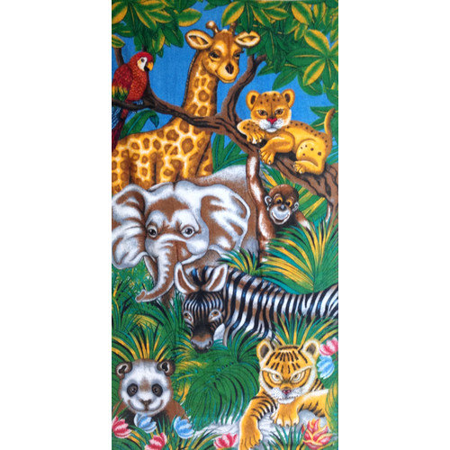 Kaufman Sales Safari Printed Beach Towel